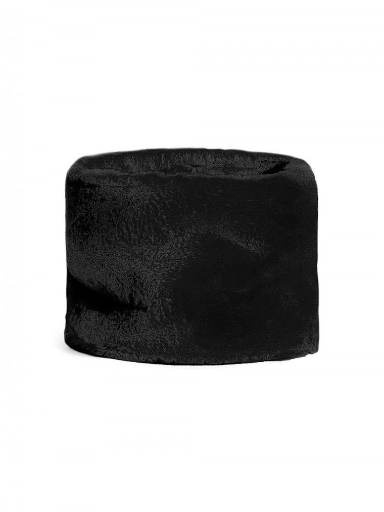 OOF Faux Fur Collar-Black