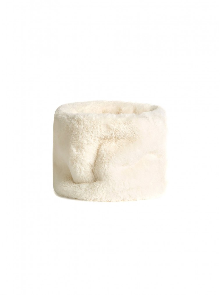 OOF Faux Fur Collar-Off White