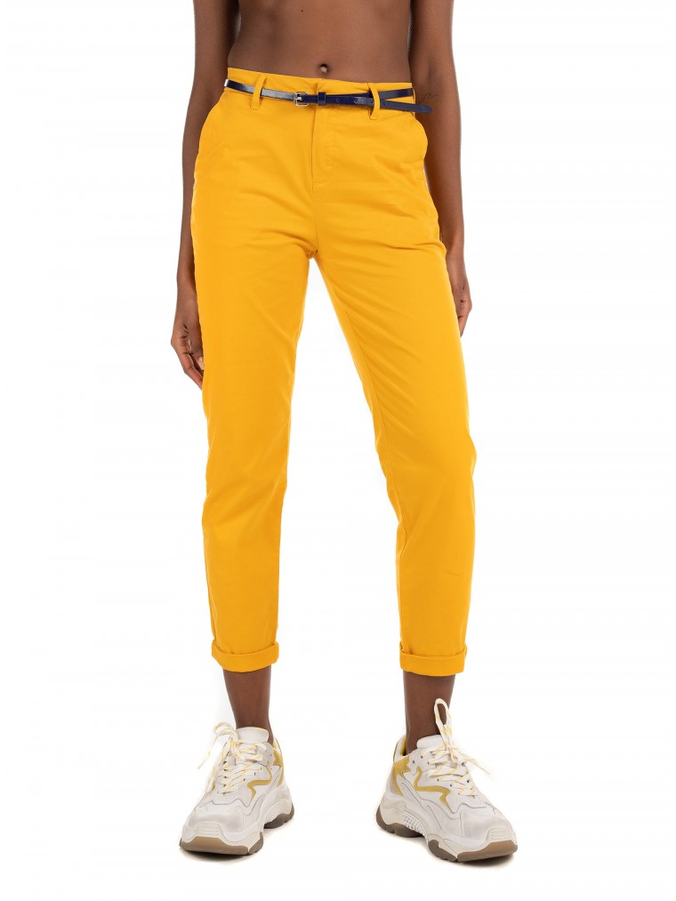 Maison Scotch Pants-Mustard