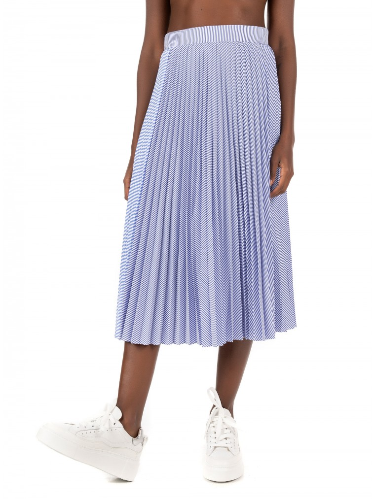 Maison Scotch Skirt-Striped