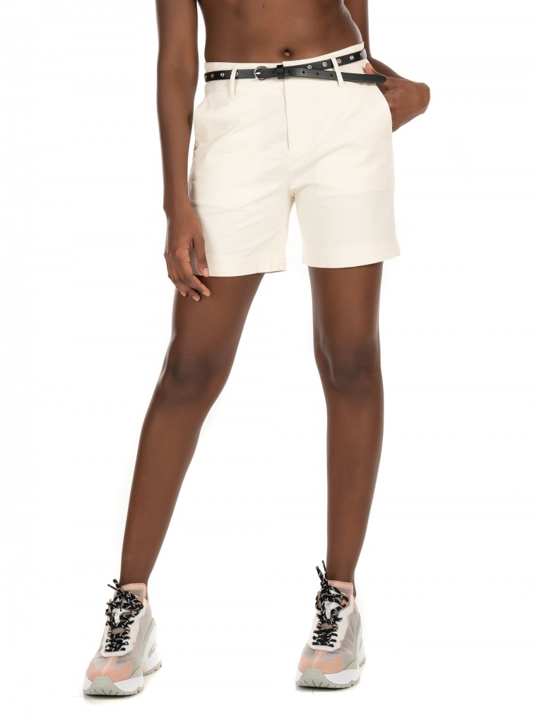 Maison Scotch Chino Shorts-Off White