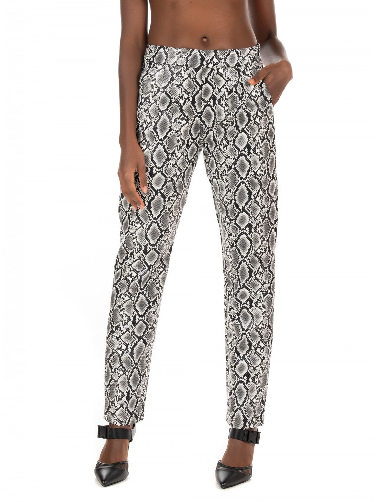 Kendall + Kylie Pants-Animal Print