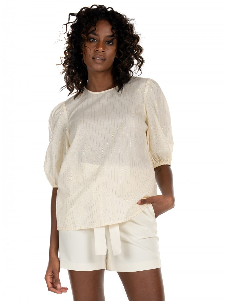 Vero Moda Top Koroni-Off White