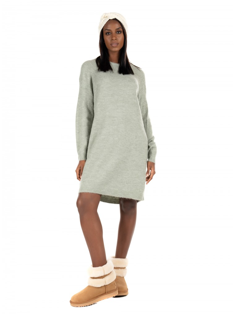 Only Knitted Dress Janny-Aquamarine
