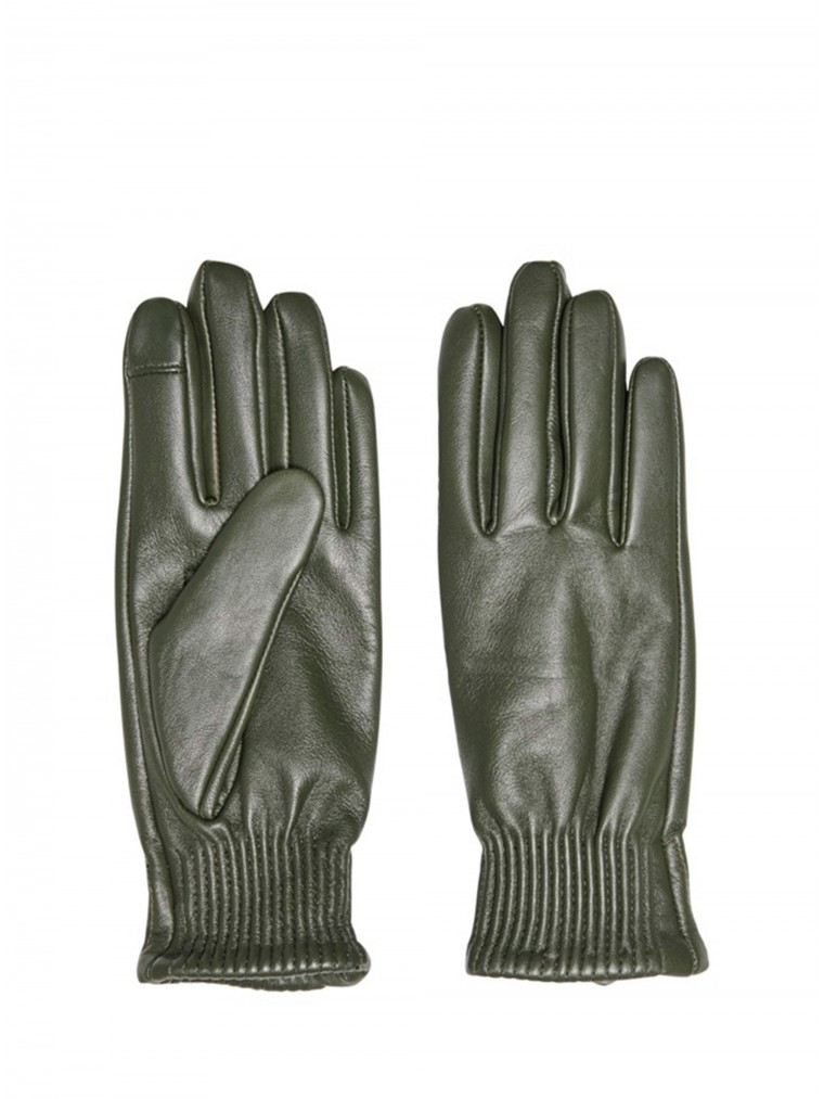 Only Leather Gloves Nora-Olive
