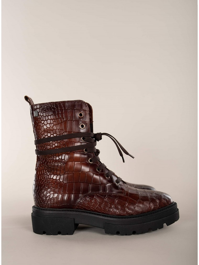 Dei Colli Ankle Boots Under2051-Brown
