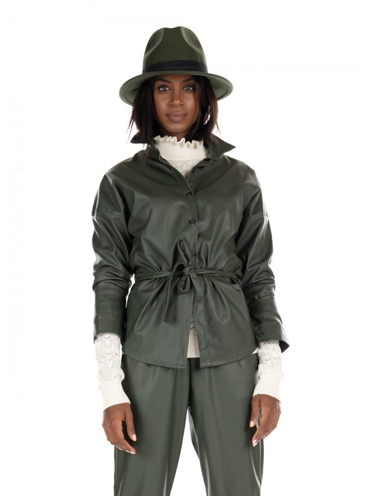 Collectiva Noir Shirt Maggot W-Dark Green