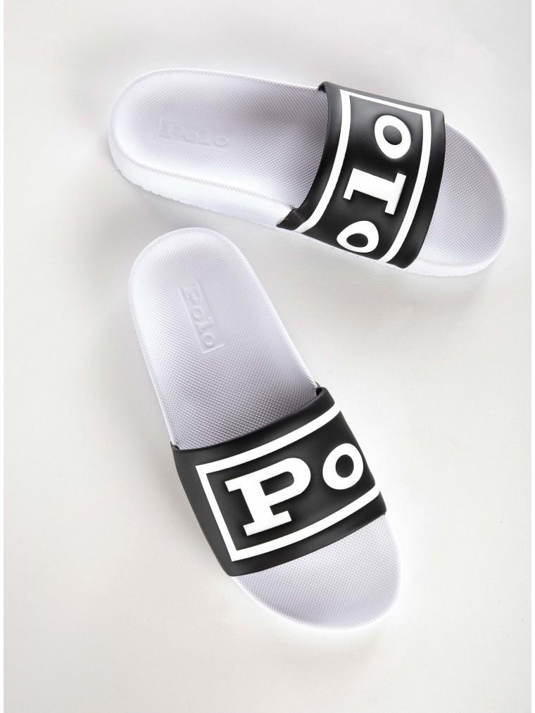 Polo Ralph Lauren Slides Cayson-Black