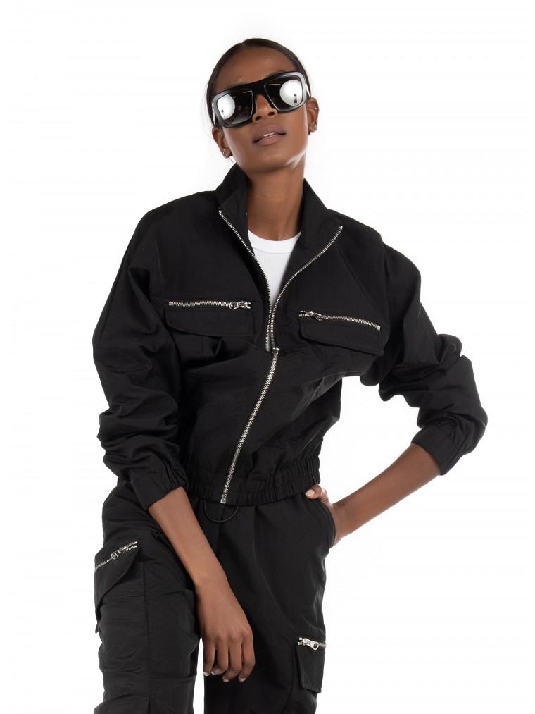 Only Track Jacket Elizabeth-Black