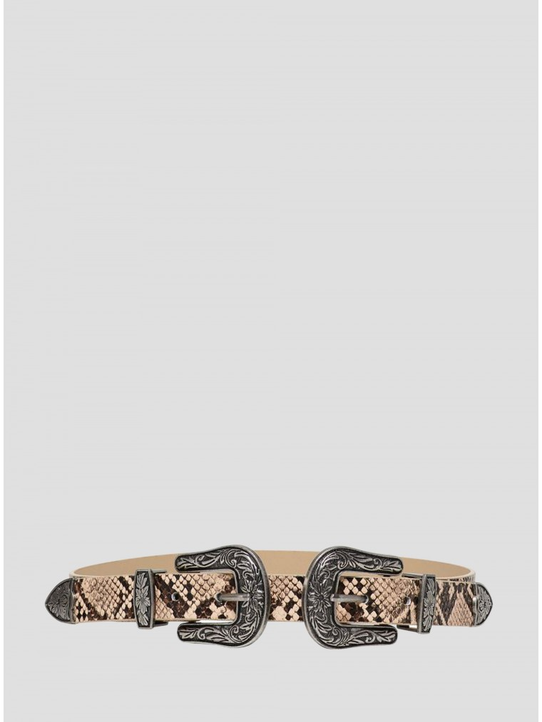 Only Western Waist Belt Viki-Animal Print