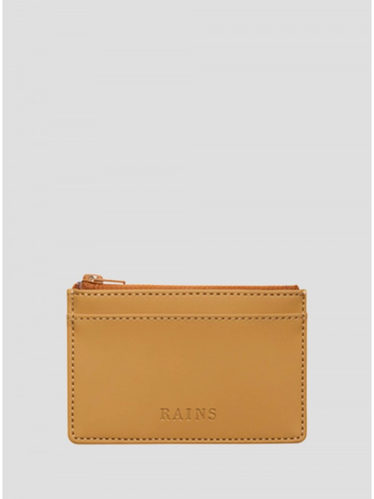 Rains Zip Wallet-Camel