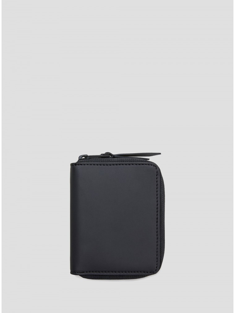 Rains Small Wallet-Black