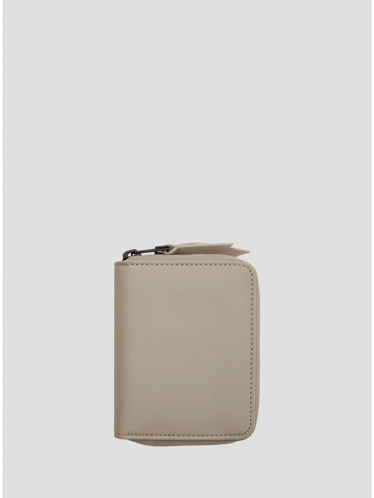Rains Small Wallet-Beige