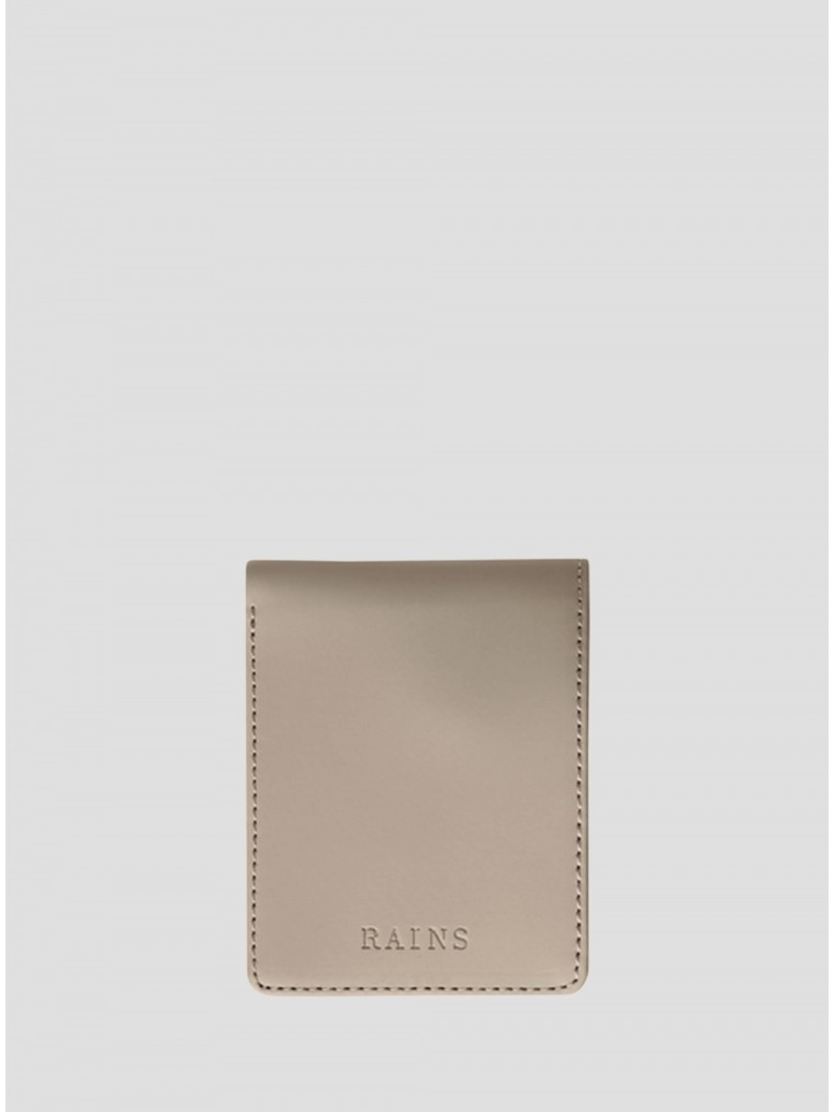 Rains Folded Wallet-Beige