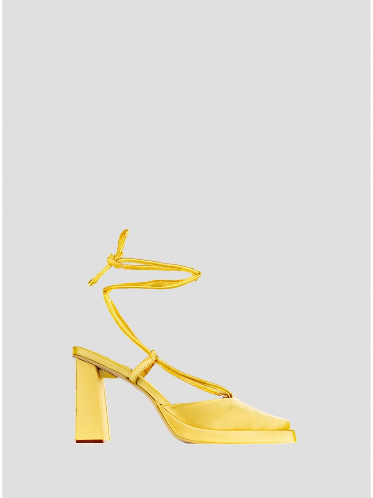 Jeffrey Campbell Heel Sandals Smoked-Yellow