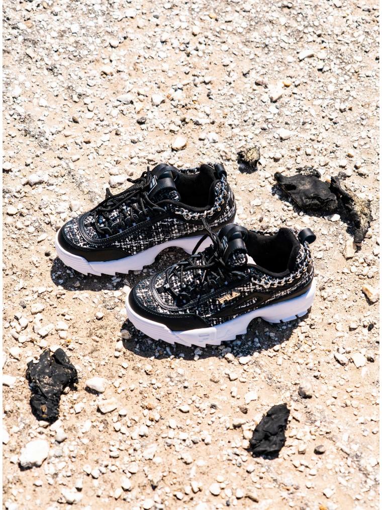 Fila Sneakers Disruptor II Tweed Lux-Black