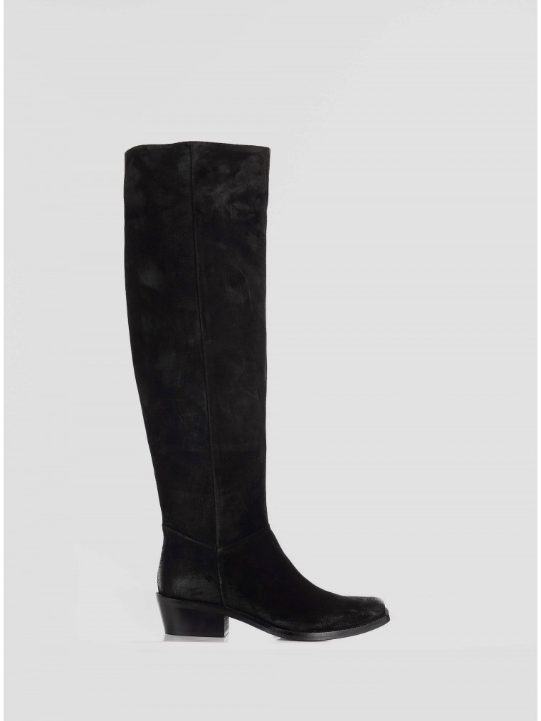 Janet & Janet Boots-Black