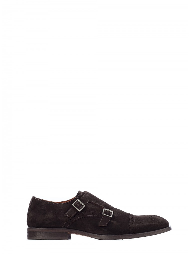 Selected Shoes Bolton Brogue-Dark Brown