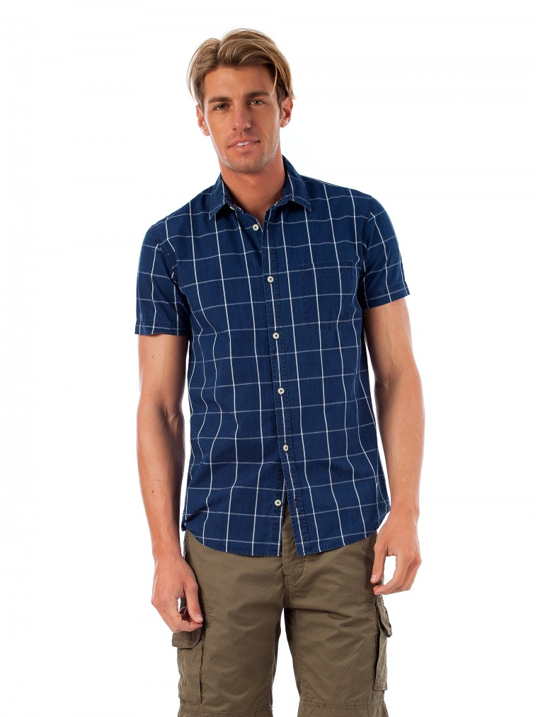 Gnious Shirt Tax-Indigo