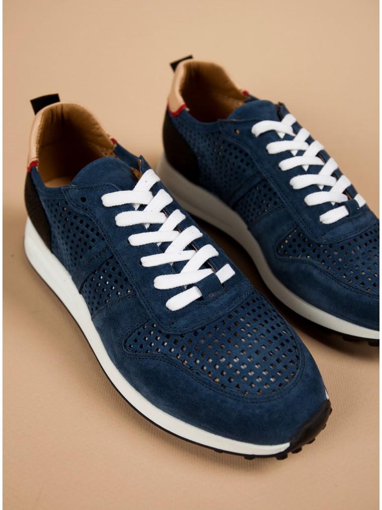 Per La Moda Sneakers-Blue