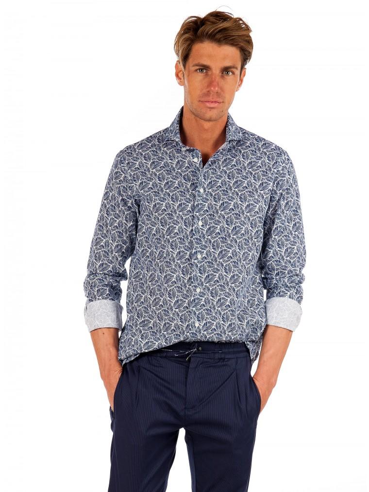 Oberon Perez Shirt-Blue