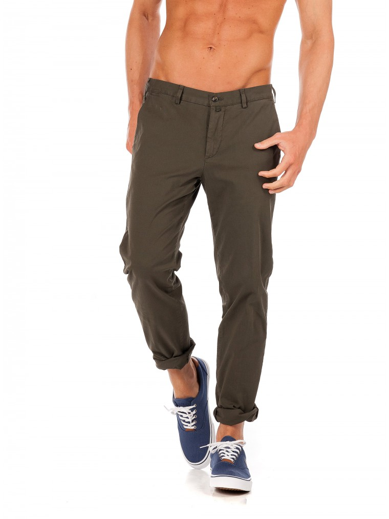 Four.Ten Pants-Dark Olive Green