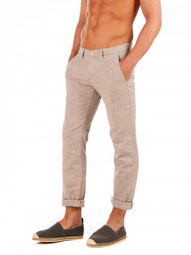Four.Ten Pants-Beige