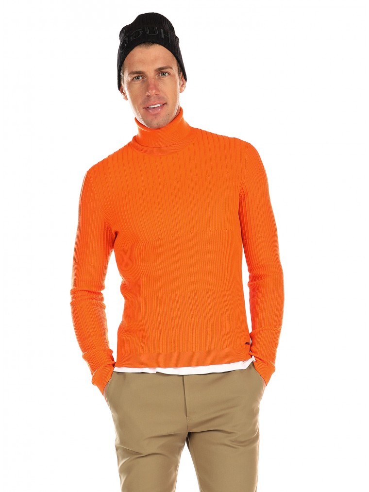 Hugo Boss Knit Sblock-Orange
