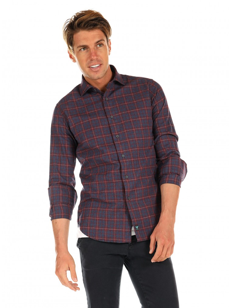 Brouback Shirt-Bordeaux