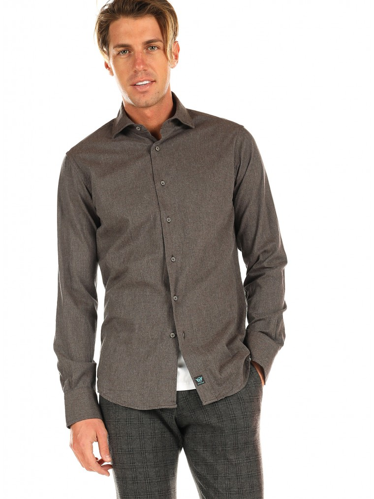 Brouback Shirt-Brown