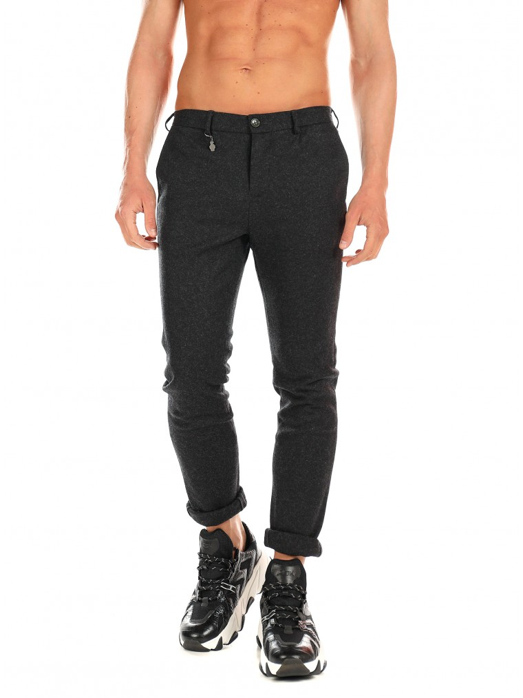 7 Square Pants The Tracer-W-P-Dark Grey