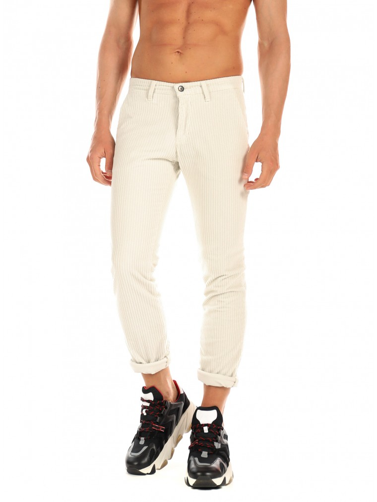 Four.ten Corduroy Pants-Off White