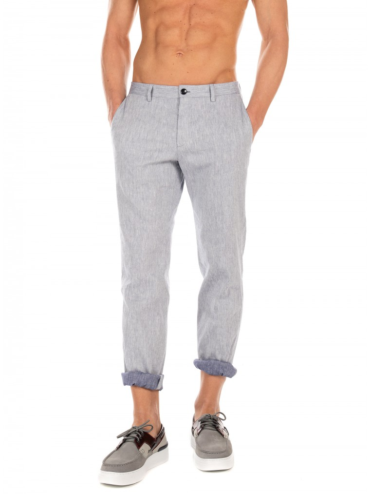 Boss Pants Stanino17-W-Light Blue