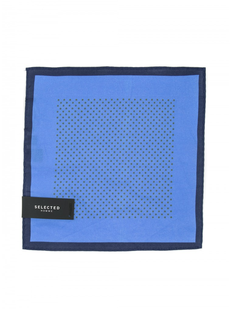 Selected Handkerchief Malek-Blue