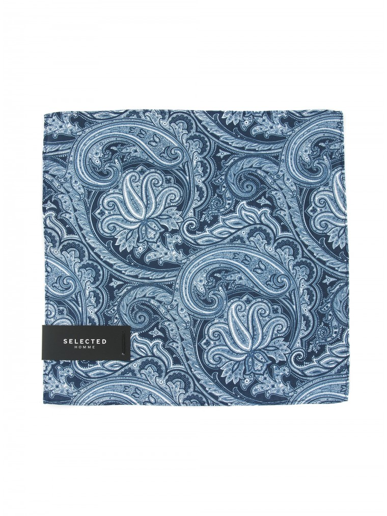 Selected Handkerchief Malek-Sky Blue