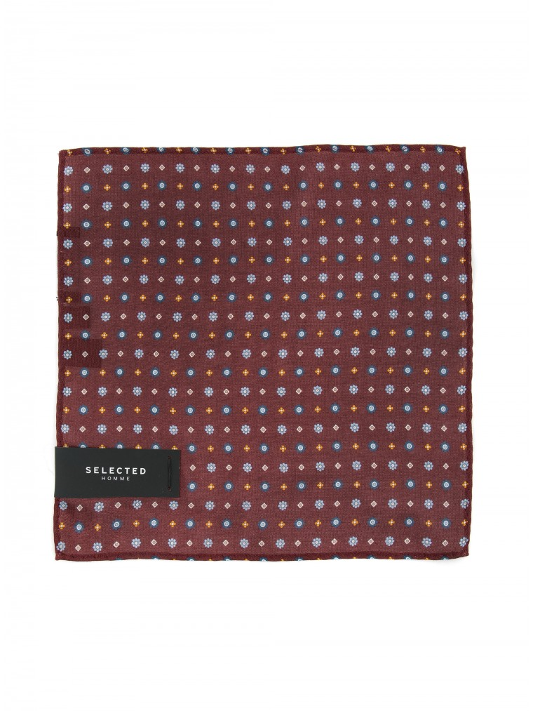 Selected Handkerchief Malek-Bordeaux