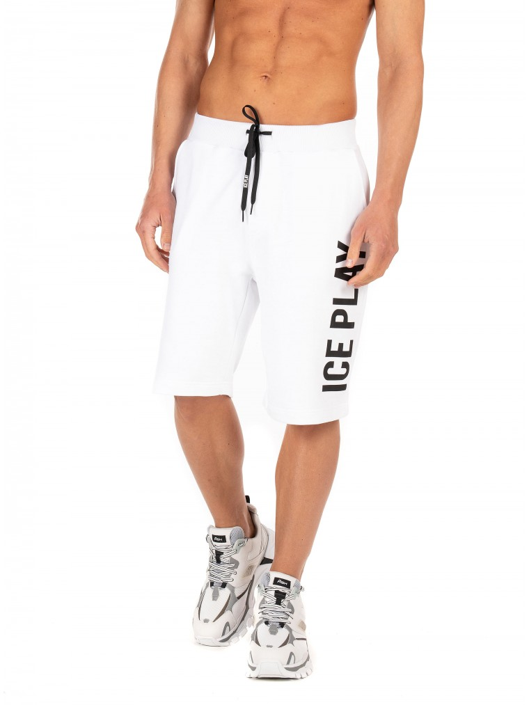 Ice Play Shorts-White