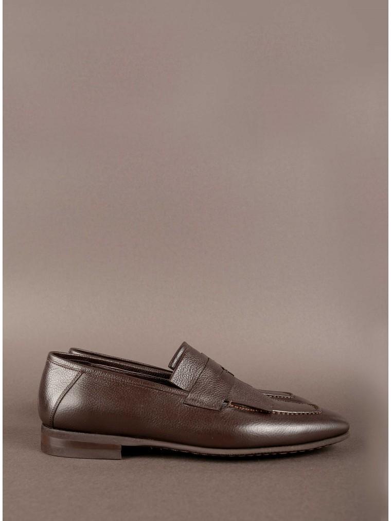 Per La Moda Shoes-Brown