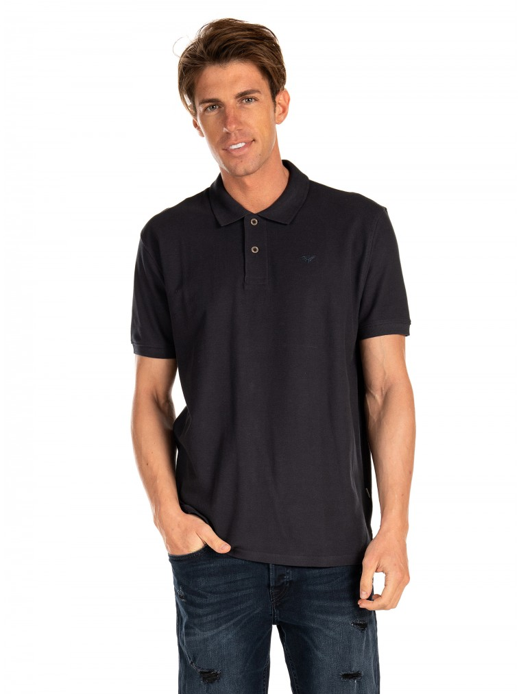 Gnious Polo Shirt Condena-Dark Grey
