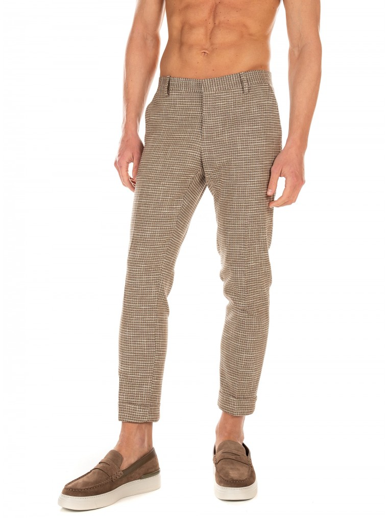 Paul MIRANTA Pants-Dark Beige