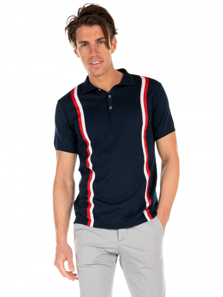 Paul MIRANTA Polo-Blue