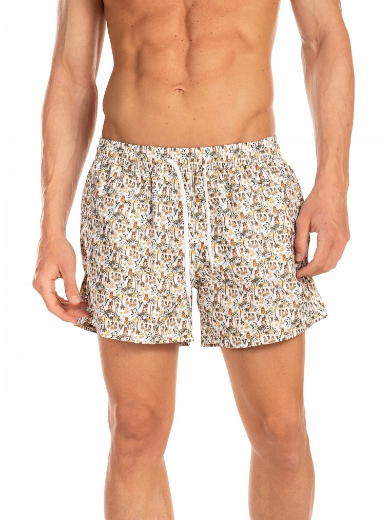 Paul MIRANTA Swim Shorts-Olive