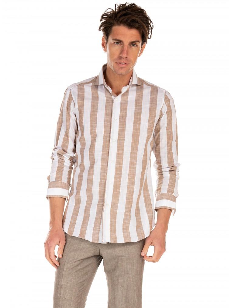 Oberon Perez Shirt-Striped