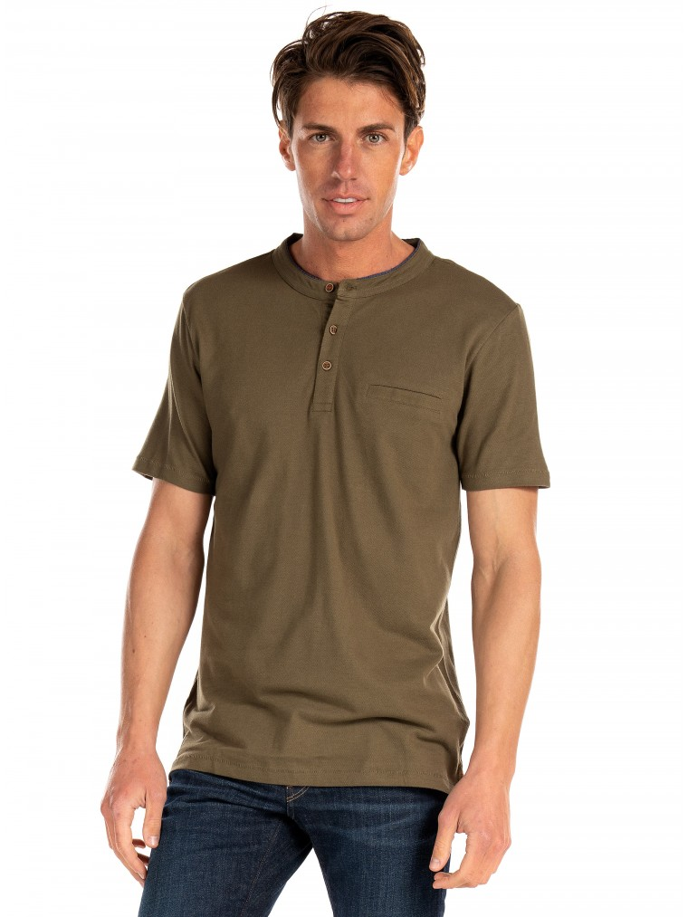 Tiffosi Polo Shirt Mushy-Olive