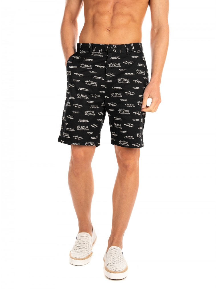 Scotch & Soda Chino Shorts-Black