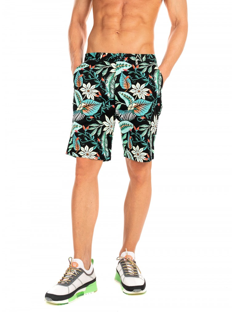 Scotch & Soda Chino Shorts-Green