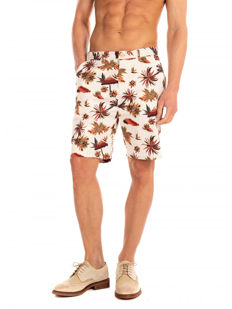 Scotch & Soda Chino Shorts-Off White