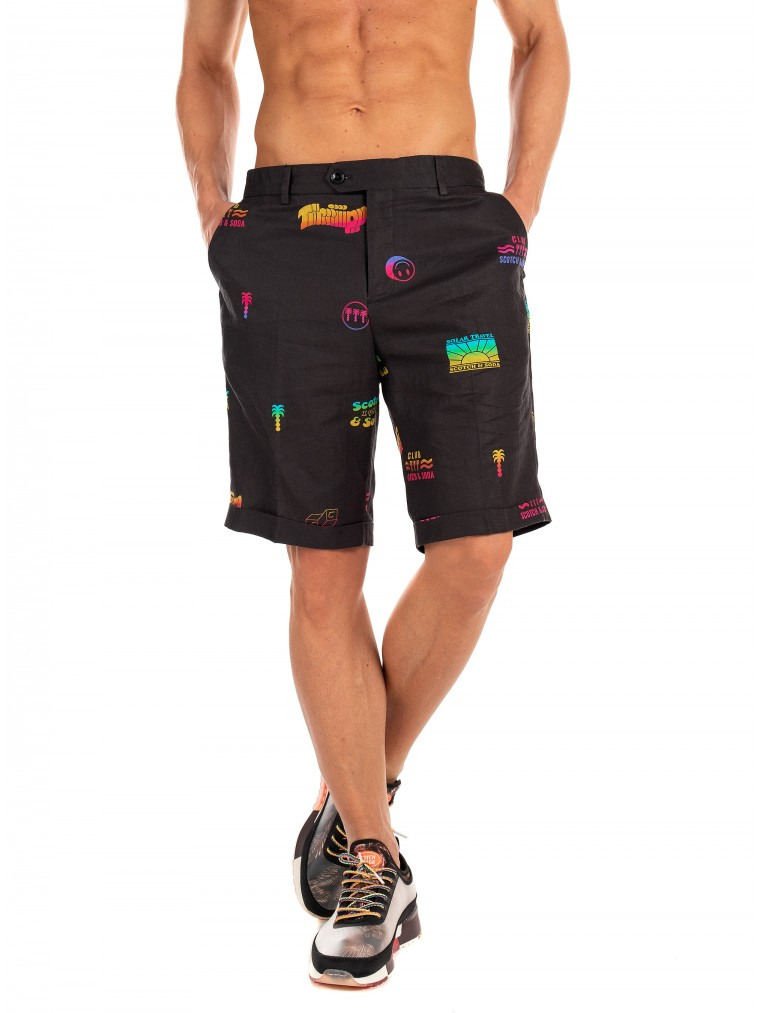Scotch & Soda Shorts-Black