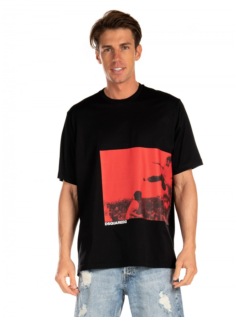 Dsquared T-Shirt-Black
