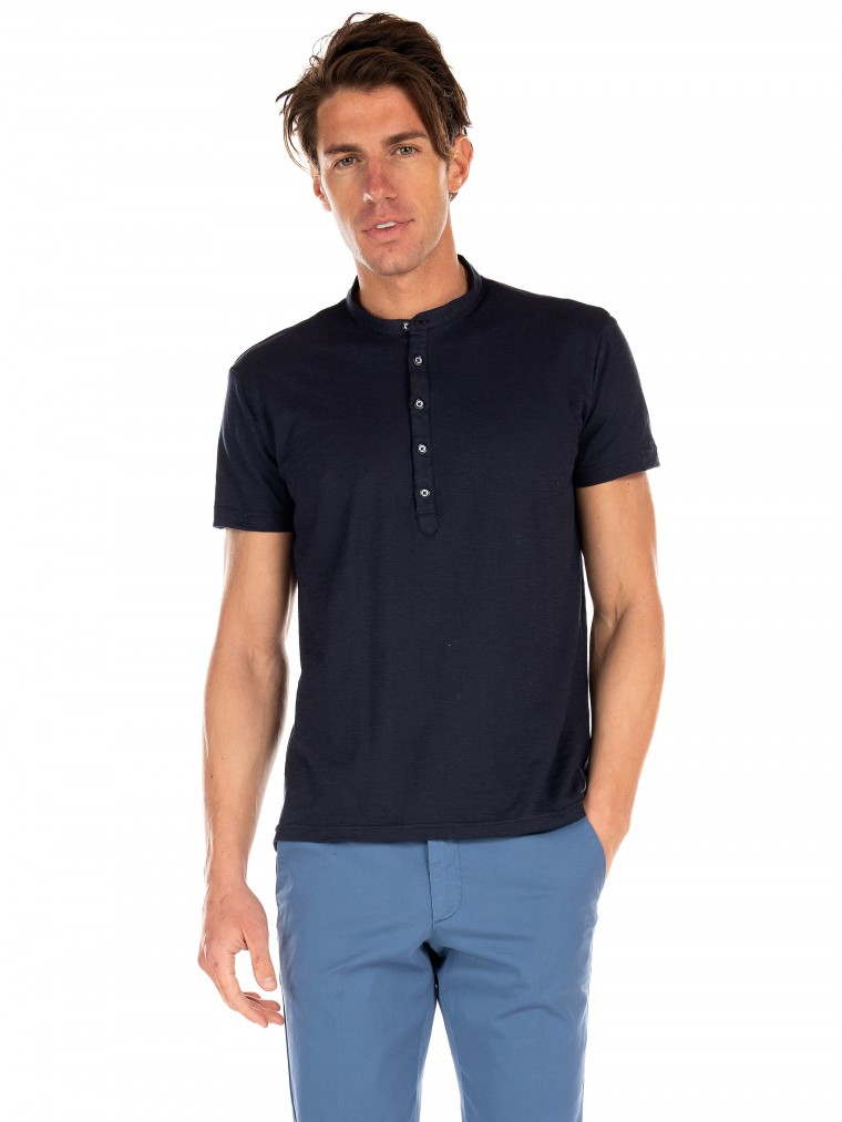 Belmonte Mao Polo-Blue